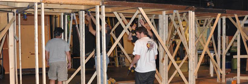 Volunteer Set Building